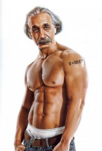 Einstein-Brain-Muscle
