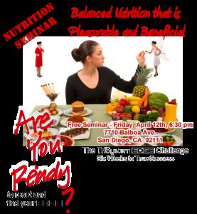 Challenge Nutrition Seminar