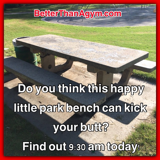 OUTDOOR WORKOUT reminder 9:30 am, today, Saturday.