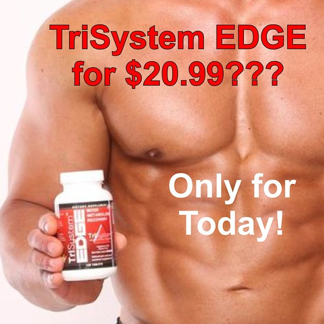 Just use coupon code blackfriday at https://trisystemedge.com/product/trisystem-edge-120-tablet-bottle/ before midnight tonight (11/28/2014) No limit per person.  Order as much as you like!