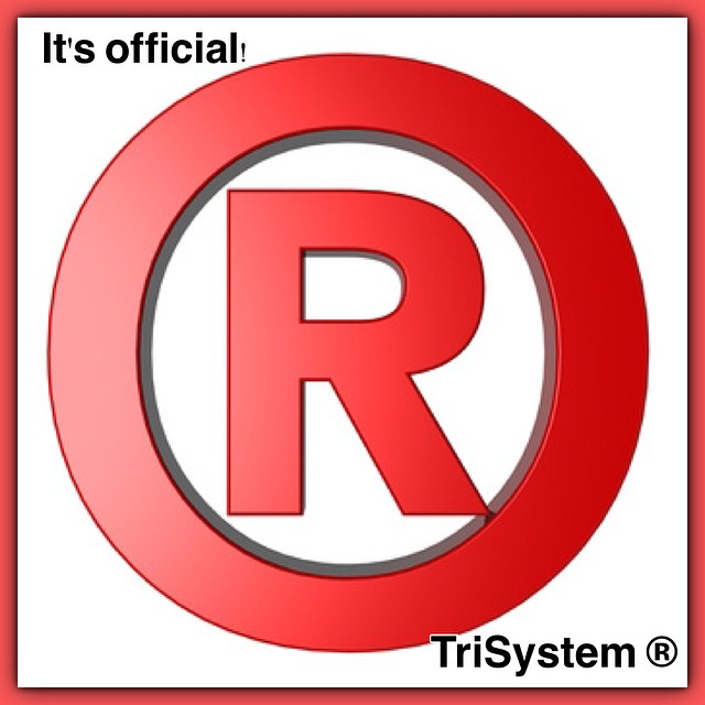 We have officially been registered.  No more TM we finally can put a  after TriSystem.