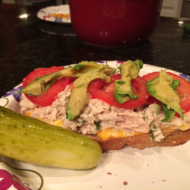 TriSystem Tuna Sandwich,  Tina Style!  Cool pic