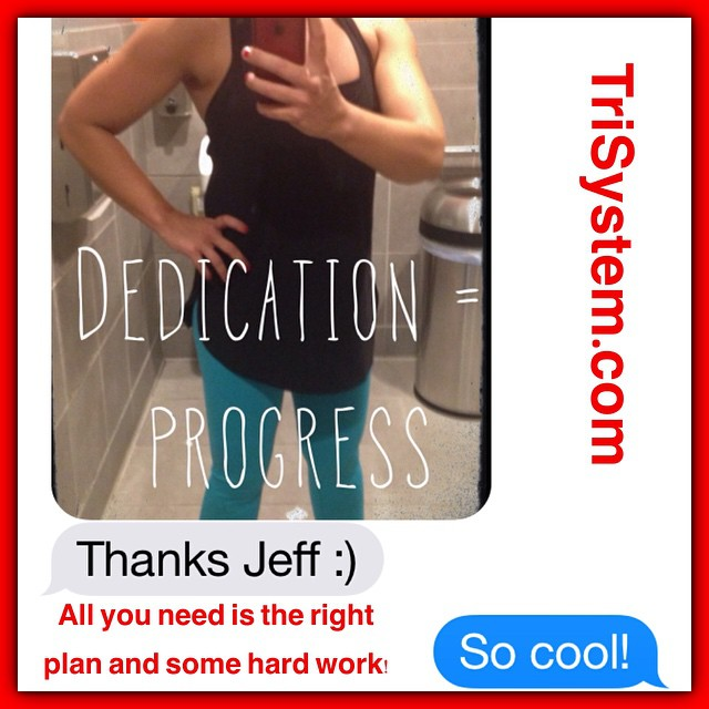 I love it when clients take progress selfies and send them to me  Guess who this long time TriSystem Nutritionist and contest finalist is...