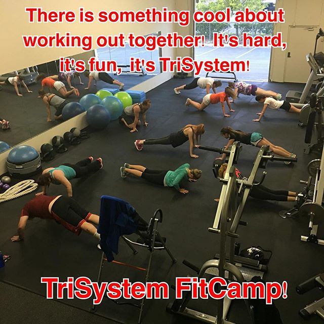 Group exercise #classes at TriSystem's new #location will alleviate some of the pressure of #one-on-one training, and are #FUN! They'll #catapult you to wanting to get set up with a #trainer right here <a href=